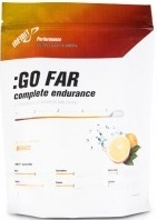 Infinit Go Far powdered drink mix pouch