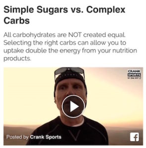 PowerGel has twice as much simple sugar as e-Gel, that's not good, watch why