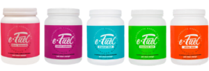 e-Fuel Electrolyte Hydration Drink Flavors
