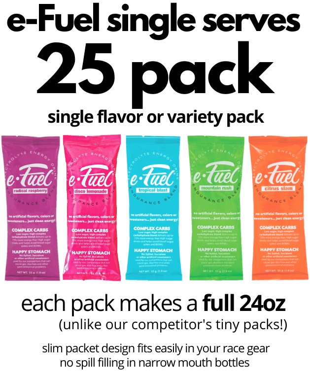 e-Fuel Single Serve 25 Pack