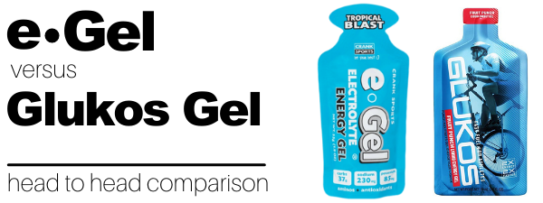 Glukos Gel vs e-Gel Energy Gel Comparison